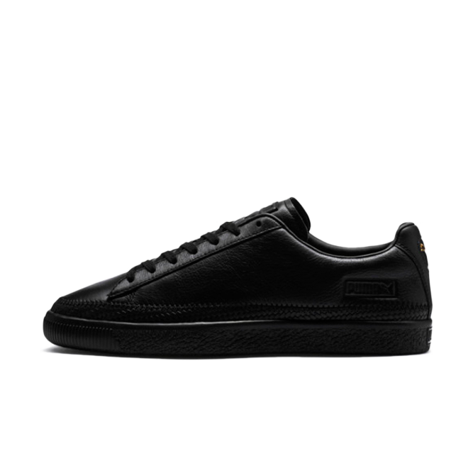 Puma Basket Trim 'Triple Black' zijaanzicht