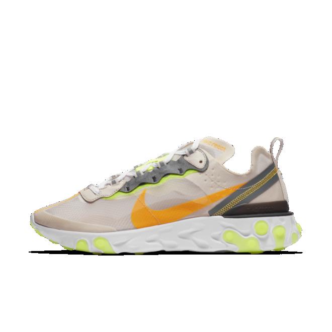Nike React Element 87 'Laser Orange' zijaanzicht