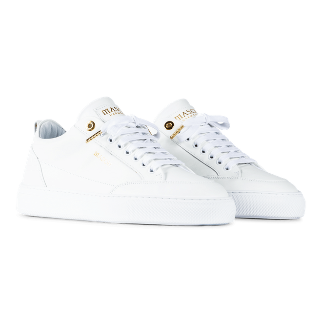Mason Garments Tia - Softy Leather - White