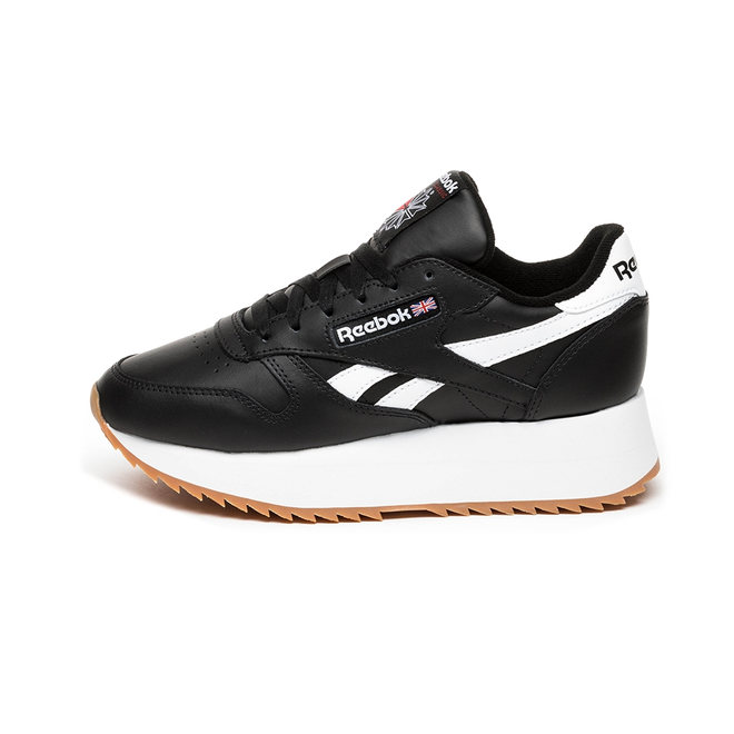 Reebok Classic Leather Double (Black / White / Primal Red) DV3631