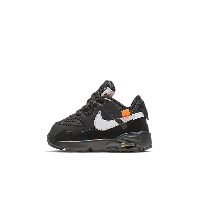 Off-White X Nike Air Max 90 BT 'Black' BV0852-001