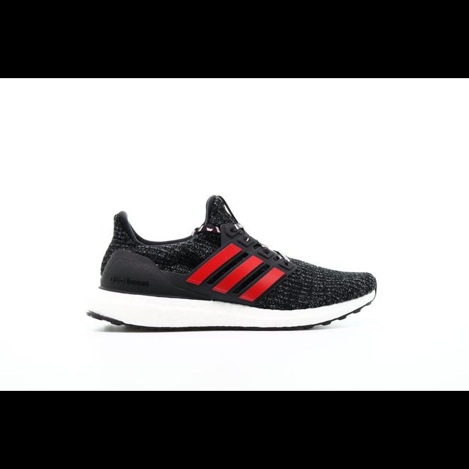 "Adidas Ultraboost ""Black Scarlet"""