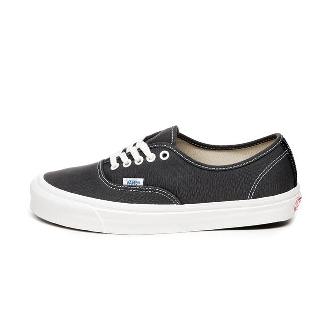 Vans OG Authentic LX *Canvas / Suede* (Asphalt / Black)