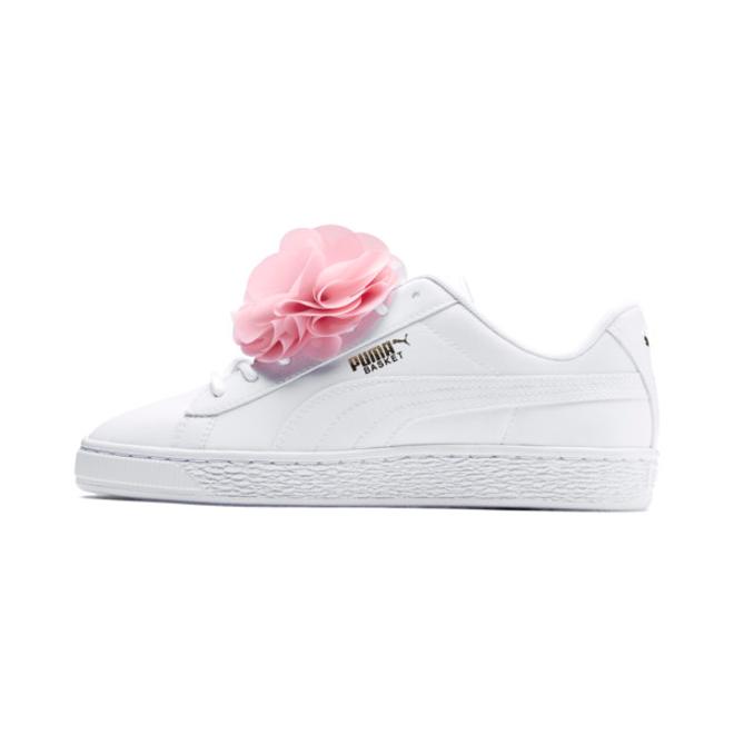 Puma Basket Flower Girls Sneakers