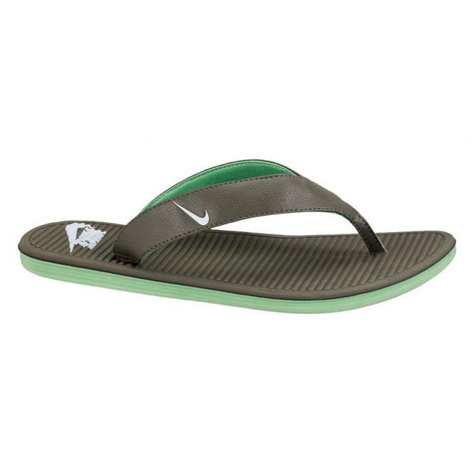 Nike Solarsoft Thong Tarp Green/white-poison Green
