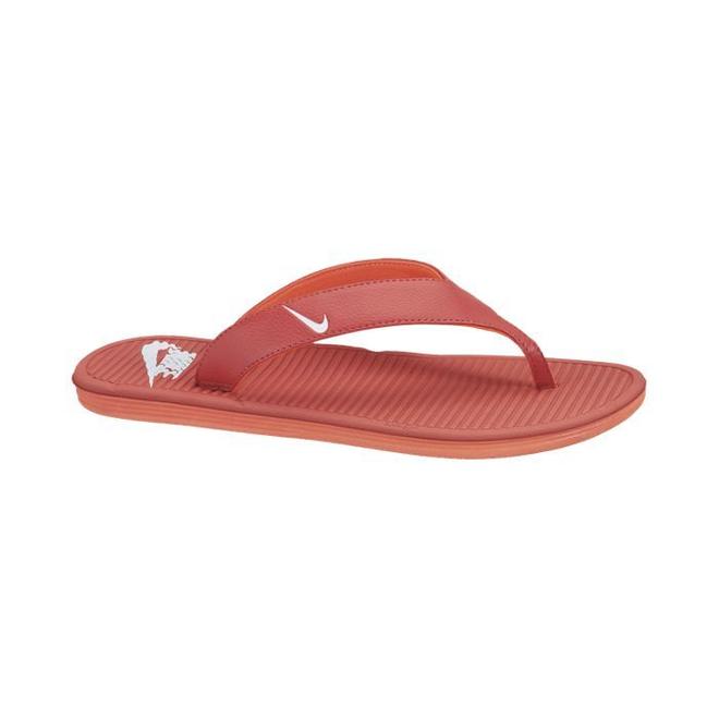 Nike Solarsoft Thong Pimento/white-total Crimson