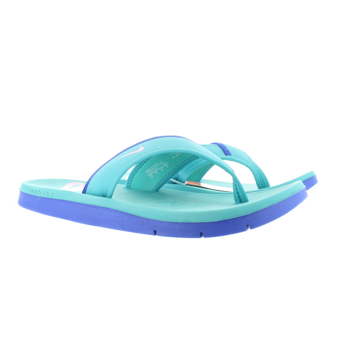 Nike Celso Solarsoft Thong Sport Turq/Dgtl Pink Hyper Blue