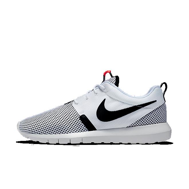 Nike Roshe Nm Br White/White-Black-Hot Lava
