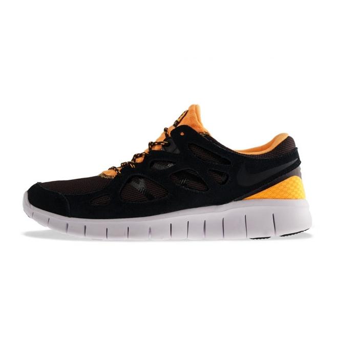 Nike Free Run +2 Black/black-laser Orange-mdr