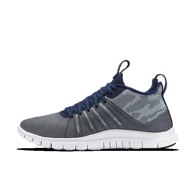 Nike Fc Free Hypervenom 2 Flt Slvr/Cl Gry-Obsdn-Drk Gry