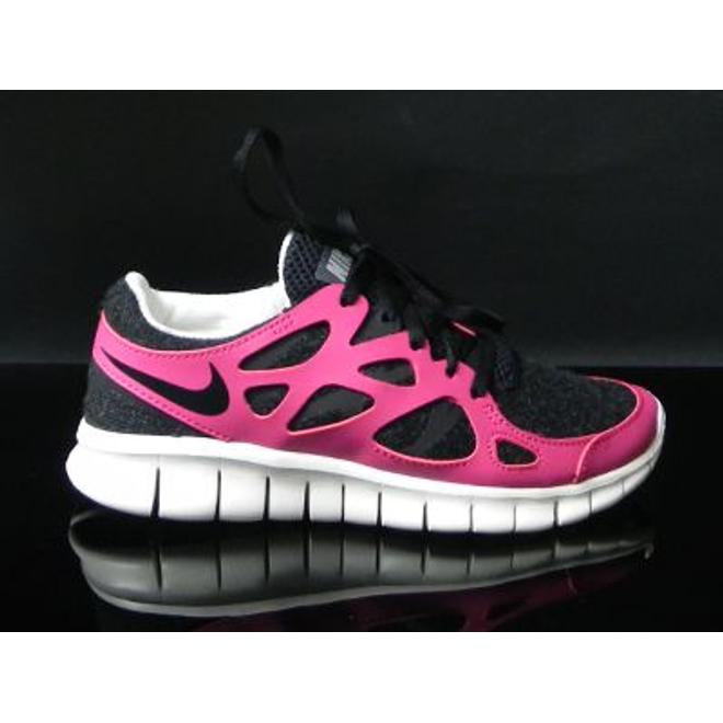sale retailer cba29 53df7 Nike Wmns Free Run +2 Ext Black black Fire Berry