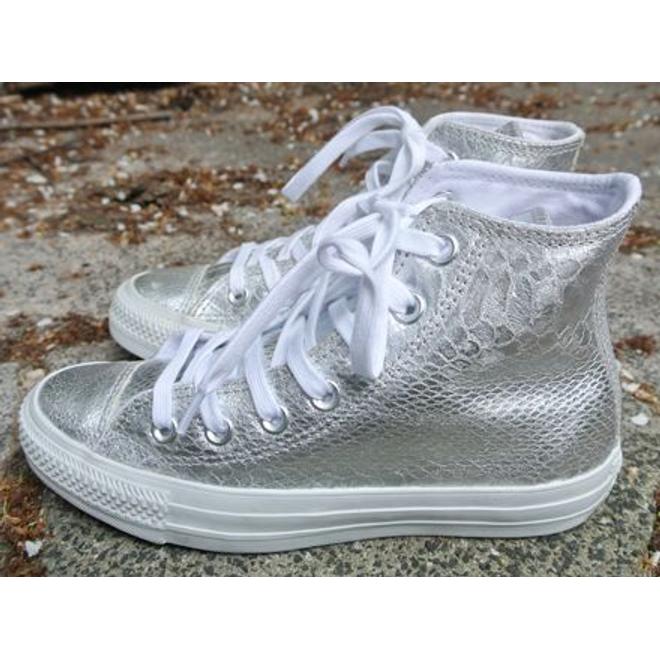 Converse Ct Silver/white