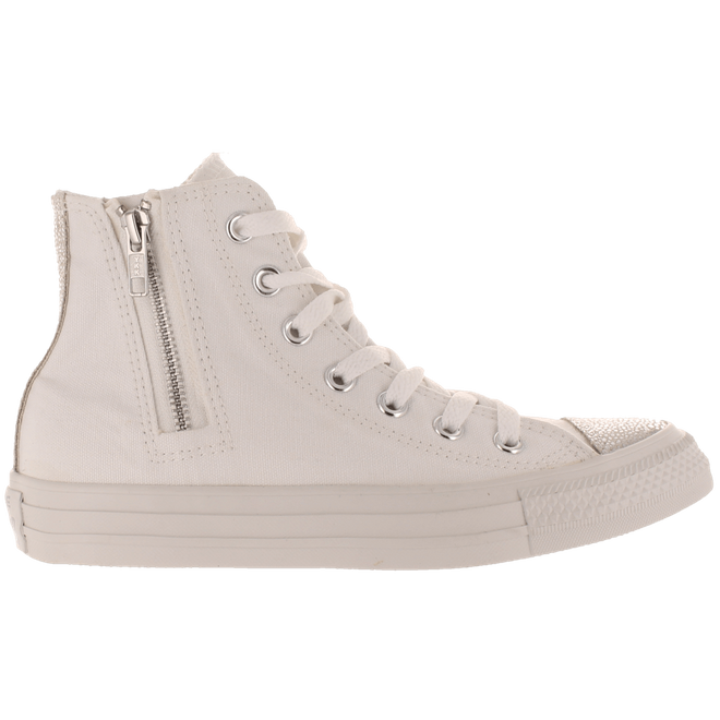 Converse Ct Side Zip High White