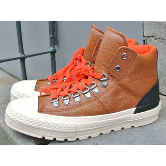 Converse CT Leather Street Hiker Hi Pinecone Brown/Parchment/Fire
