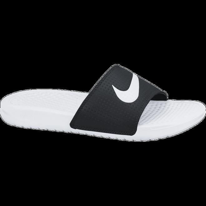 Nike Benassi Swoosh Black/White-White