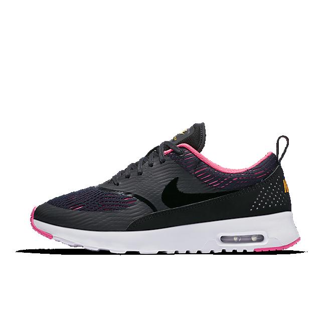 833887 001 Nike Wmns Air Max Thea Em BlackBlack Pink Blast