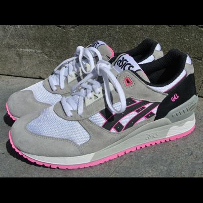 Asics Gel-Respector White/Black/Pink