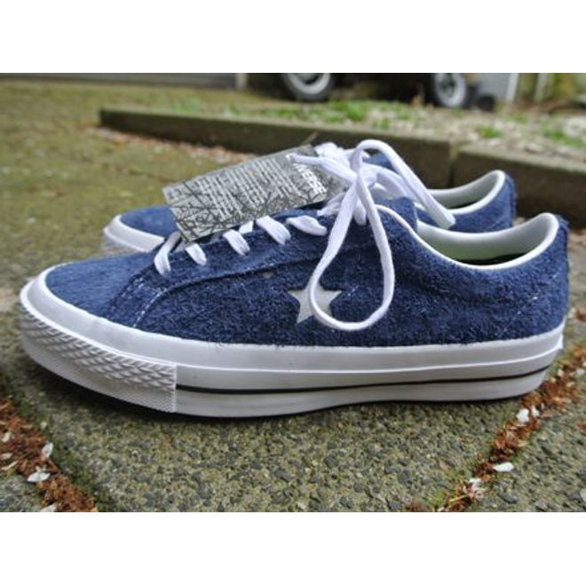 Converse One Star Ox Navy White