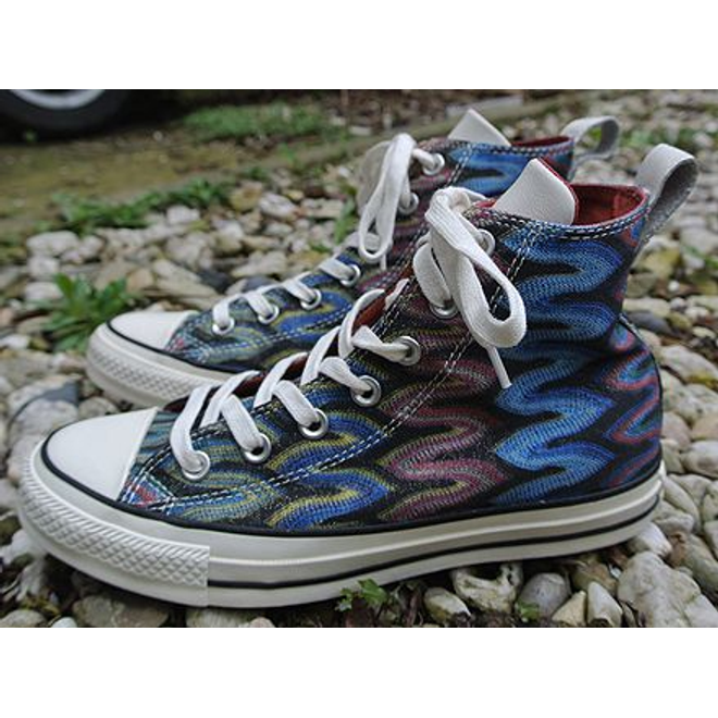 Converse X Missoni Chuck Taylor All Star Hi Auburn Black
