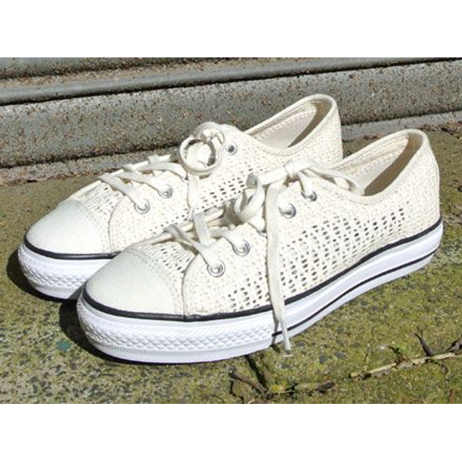 Converse Chuck Taylor All Star High Line Ox Parchment White