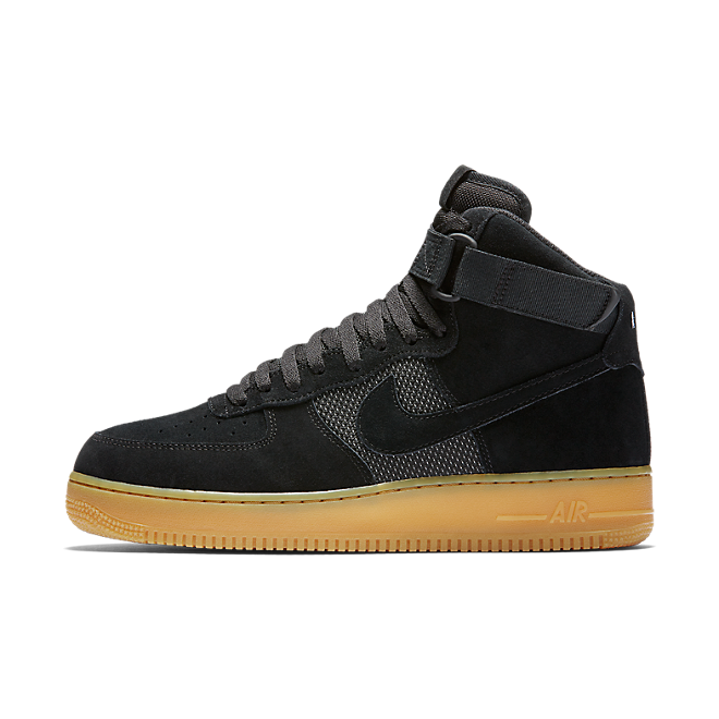 Nike Air Force 1 High '07 Lv8 Black/black-gum Light Brown-white