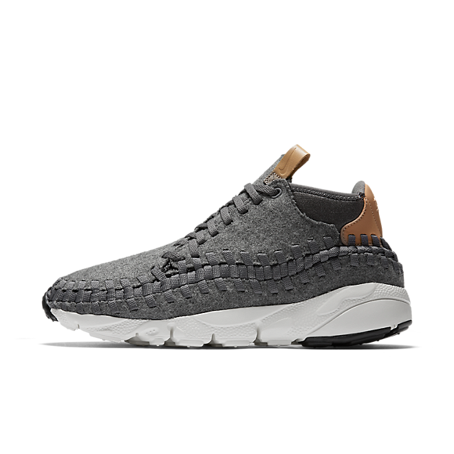 Nike Air Footscape Woven Chukka Se Dark Grey/sail-vachetta Tan-canyon Grey