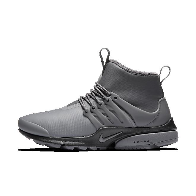 Nike Wmns Air Presto Mid Utility Dark Grey/dark Grey-reflect Silver-black