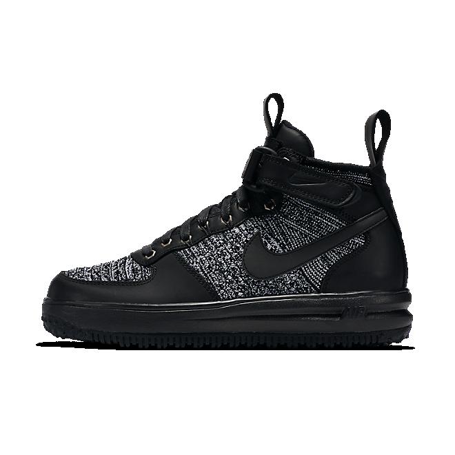 Nike Wmns Lf1 Flyknit Workboot Black/black-white-cool Grey