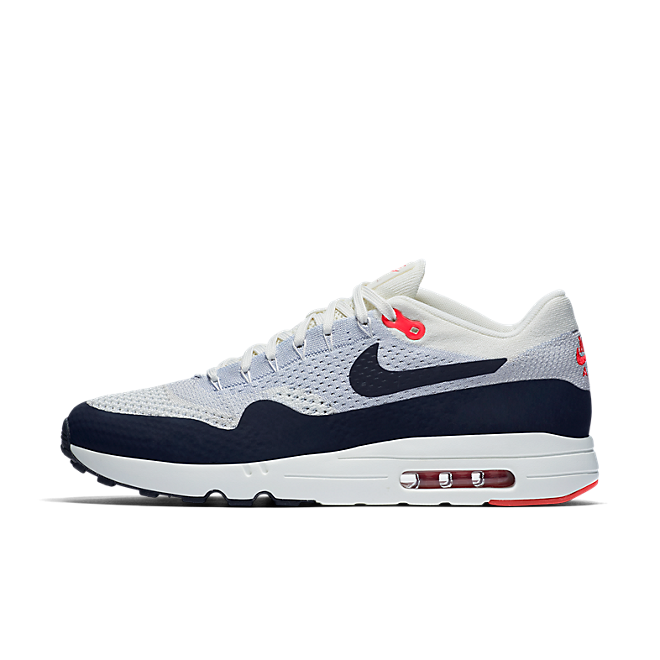 Nike Air Max 1 Ultra 2.0 Flyknit Sailobsidian wolf Grey university Red | 875942 100