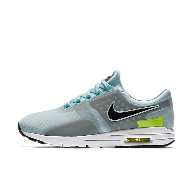 Nike Wmns Air Max Zero Si Glacier Blue/black-legion Green-white