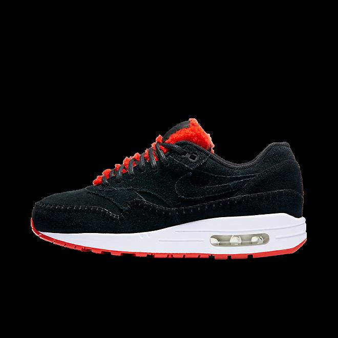 Nike Wmns Air Max 1 Premium Black/black-action Red-summit White
