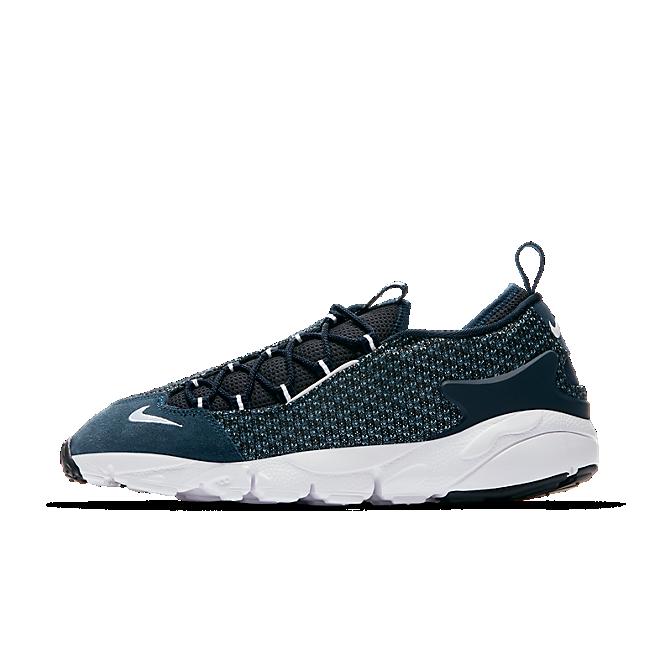 Nike Air Footscape Nm Jacquard Still Blue/white-armory Navy-black