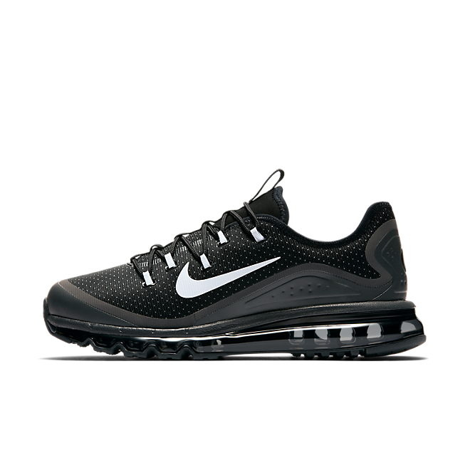 Nike Air Max More Black/white-wolf Grey-anthracite