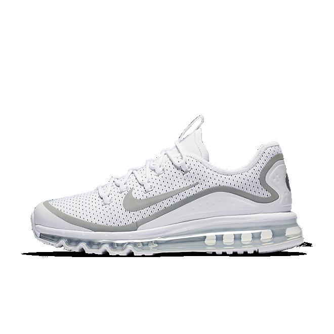 Nike Air Max More White/metallic Silver-black