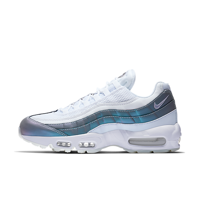 Nike Air Max 95 PRM Color Shift Glacier Blue/Palest Purple-White-Stealth