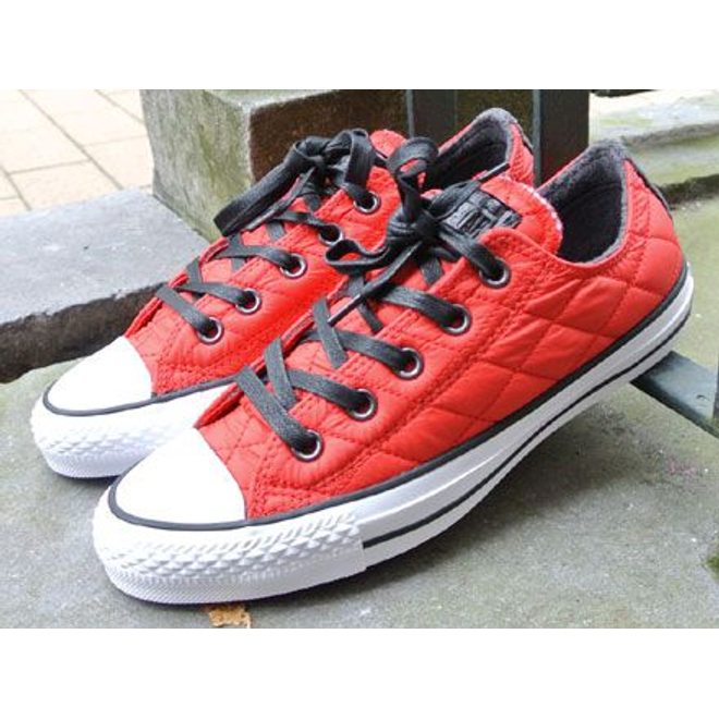 Converse Chuck Taylor Ox Quilted Casino Red-Black-White