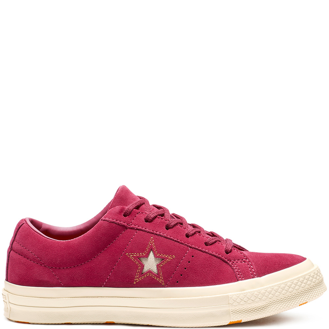 One Star Love Metallic Low Top
