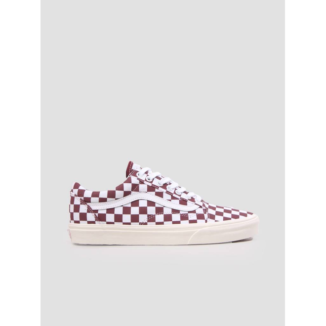 Vans Ua Old Skool Checkerboard Port Royale Marshmallow