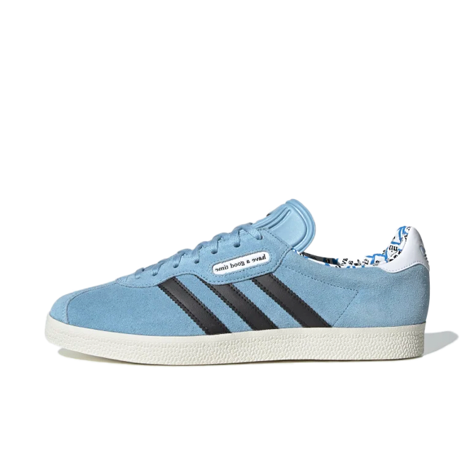 Have a Good Time X adidas Gazelle Super