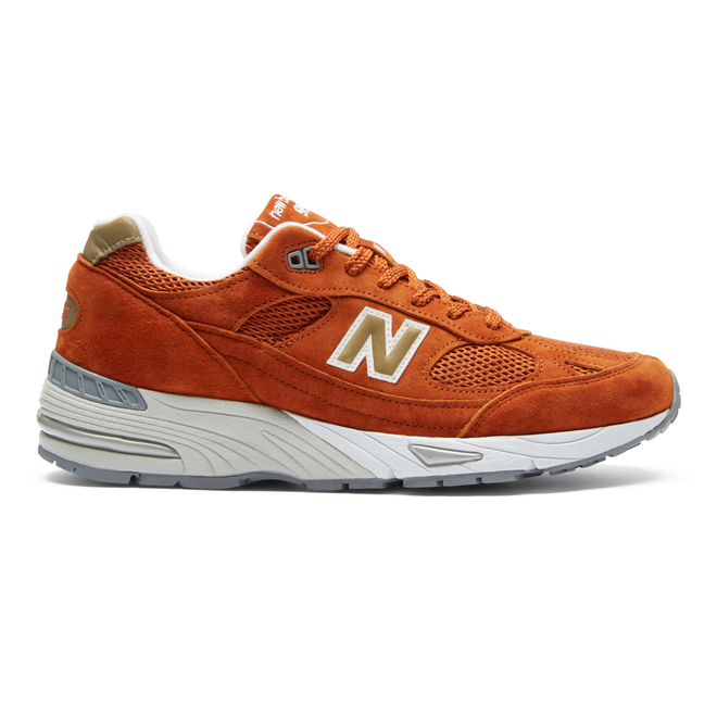 New Balance M991SE - Burnt Orange - Made In UK