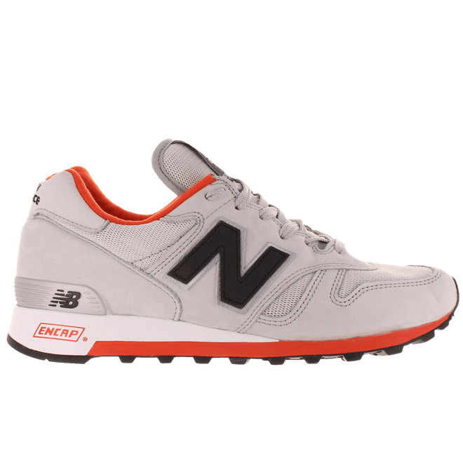313411-60 12 New Balance M1300 Made in the U.S.A. Light Grey & Orange