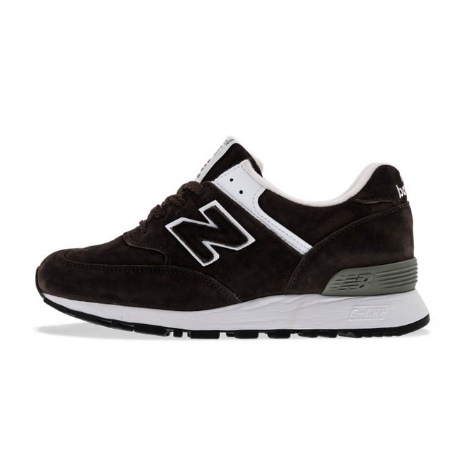 New Balance W576 Suede Dark Brown