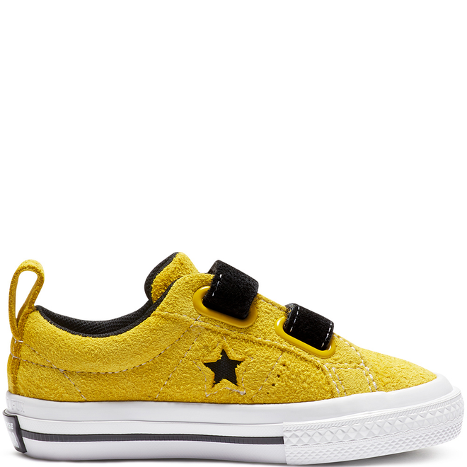 One Star Dark Star Hook and Loop Low Top 763519C