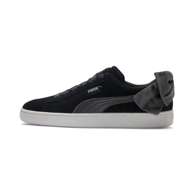 Puma Suede Bow Hexamesh Womens Sneakers