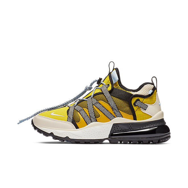 Nike Air Max 270 Bowfin Dark Citron Light Cream Bright Citron | AJ7200 300