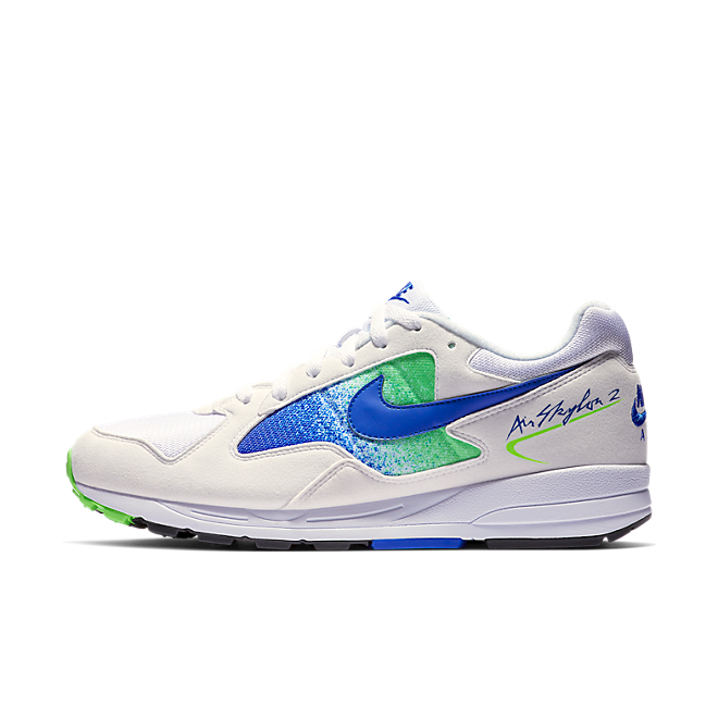 Nike Air Skylon II White, Hyper Royal & Green Strike