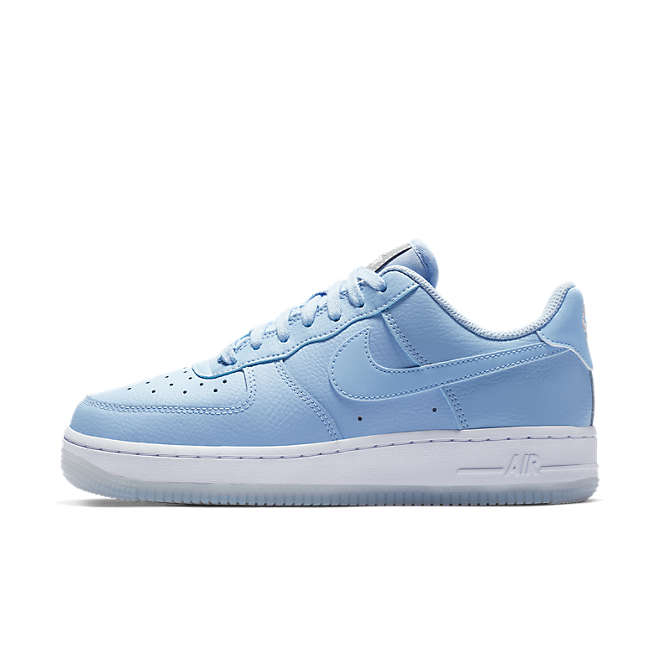 Nike Wmns Air Force 1 '07 PRM (Aluminum / Aluminum - White - Metallic