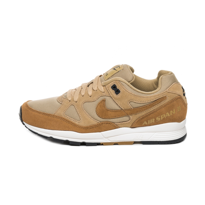 Nike Air Span II SE SP19 (Parachute Beige / Golden Beige - Black)