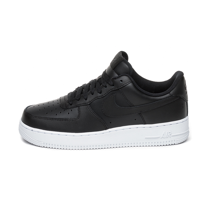 Nike Air Force 1 ´07 (Black / Black - White)