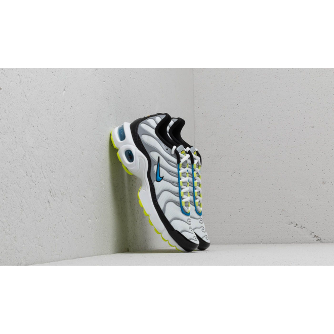 Nike Air Max Plus (GS) White/ Photo Blue-Cyber